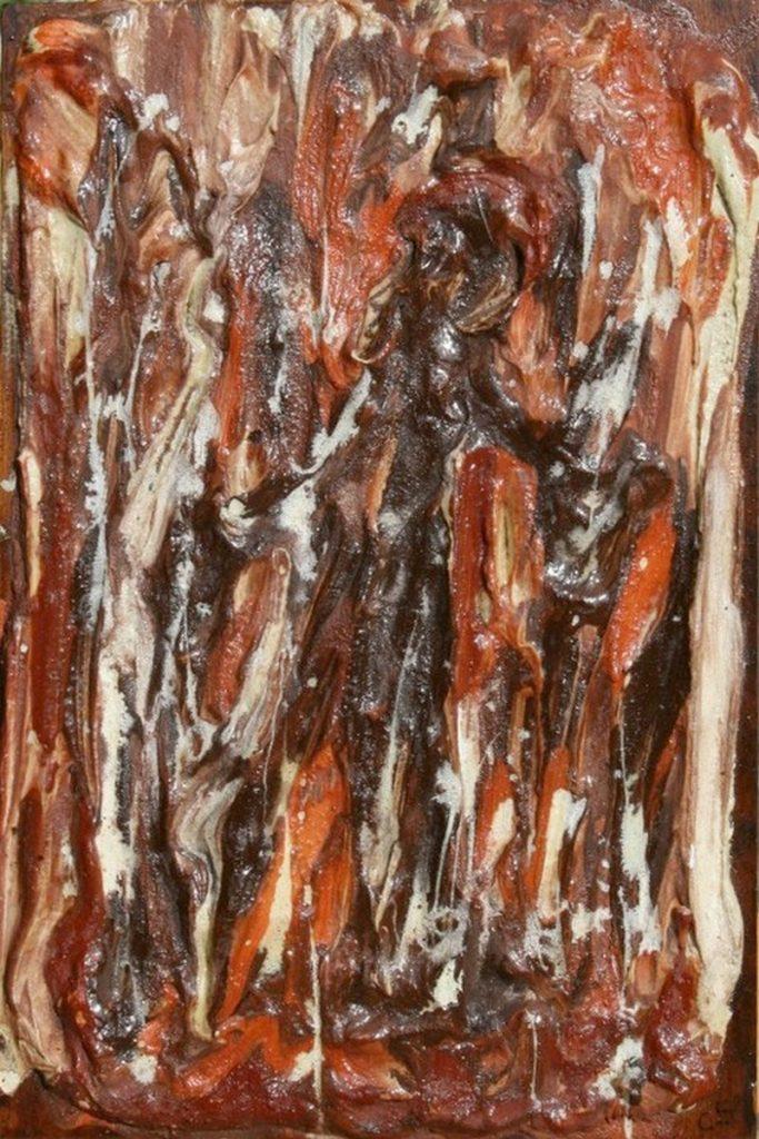 polimaterico su tavola - 20 x 30 cm - 2006