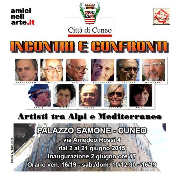 INCONTRI E CONFRONTI - DEPLIANT 2015